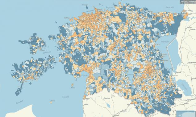 Statistika kaardirakendus